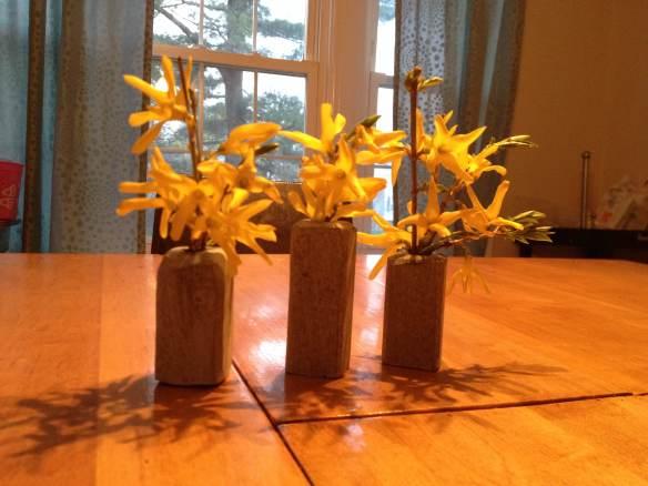 Soapstone Bud vases