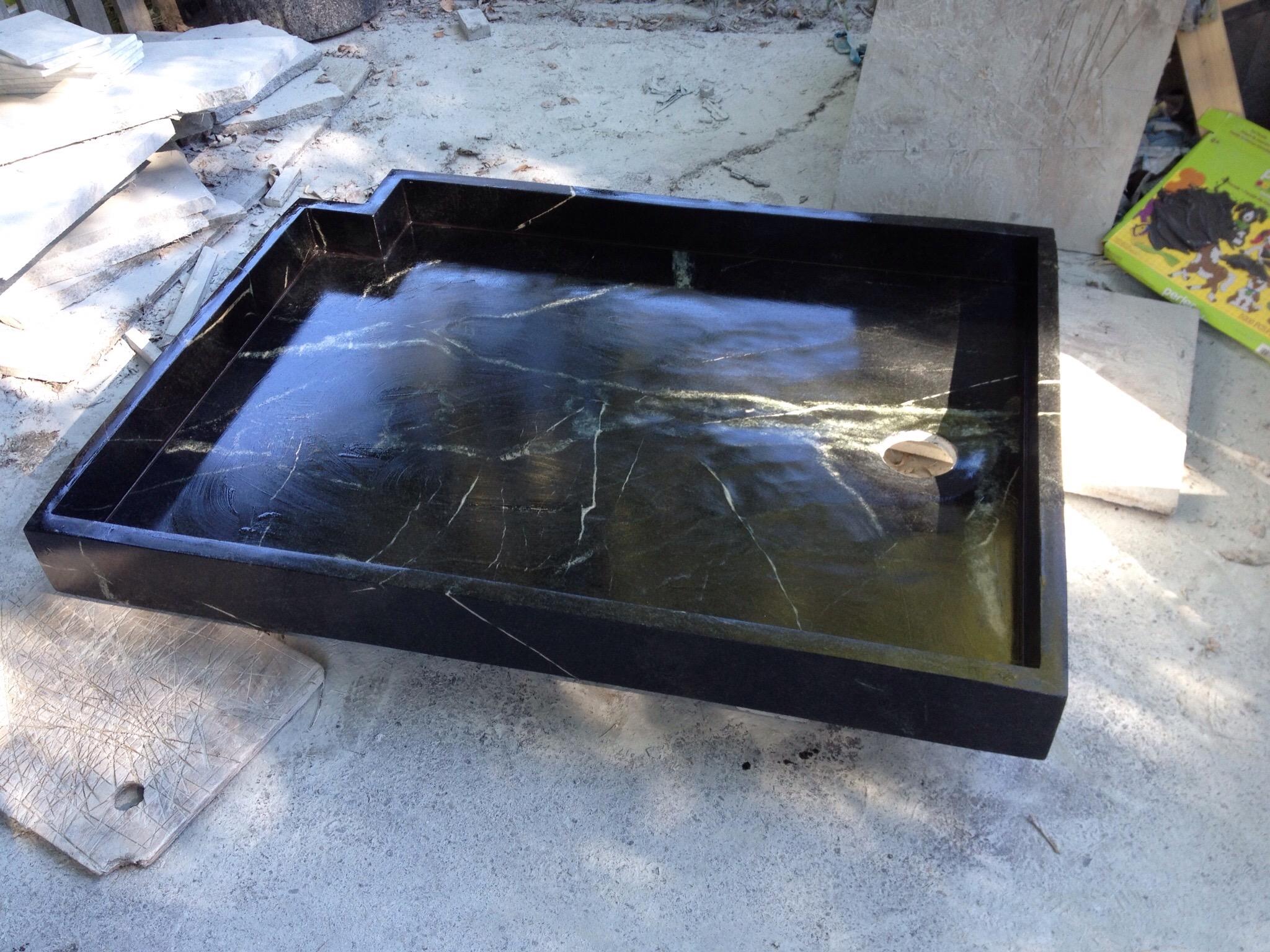 . 48 36 shower basin   Artistic Soapstone  Incorporated