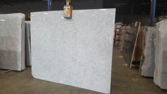 white carrara polished 98X78